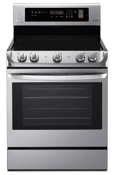 LG 6.3 Cu. Ft. Electric Freestanding Range with ProBake Convection™ – LRE4211ST - Electric Range in Stainless Steel