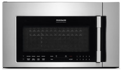 Frigidaire Professional 1.8 Cu. Ft. Two-In-One, Over-The-Range Convection Microwave - Over-the-Range Microwave with Child Lock in Stainless Steel