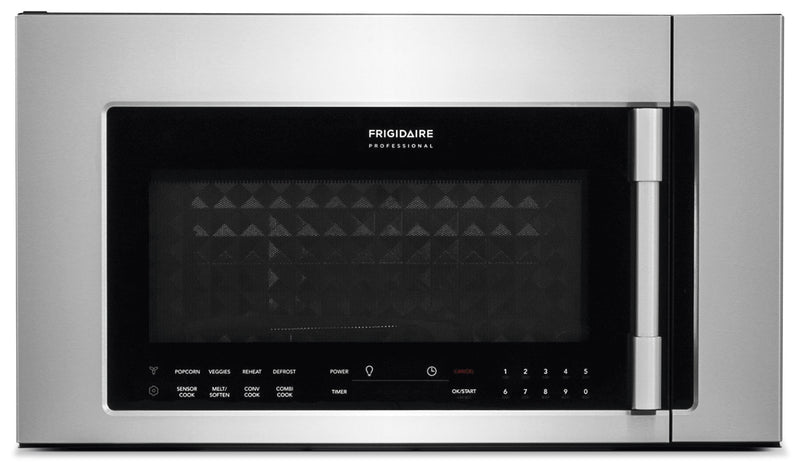 Frigidaire® Professional® 1.8 Cu. Ft. Two-In-One, Over-The-Range Convection Microwave|Four à micro-ondes à convection à hotte intégrée 2 en 1 Frigidaire Professional de 1,8 pi³