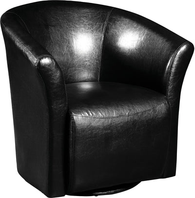 Black Swivel Accent Chair - Modern style Accent Chair in Black