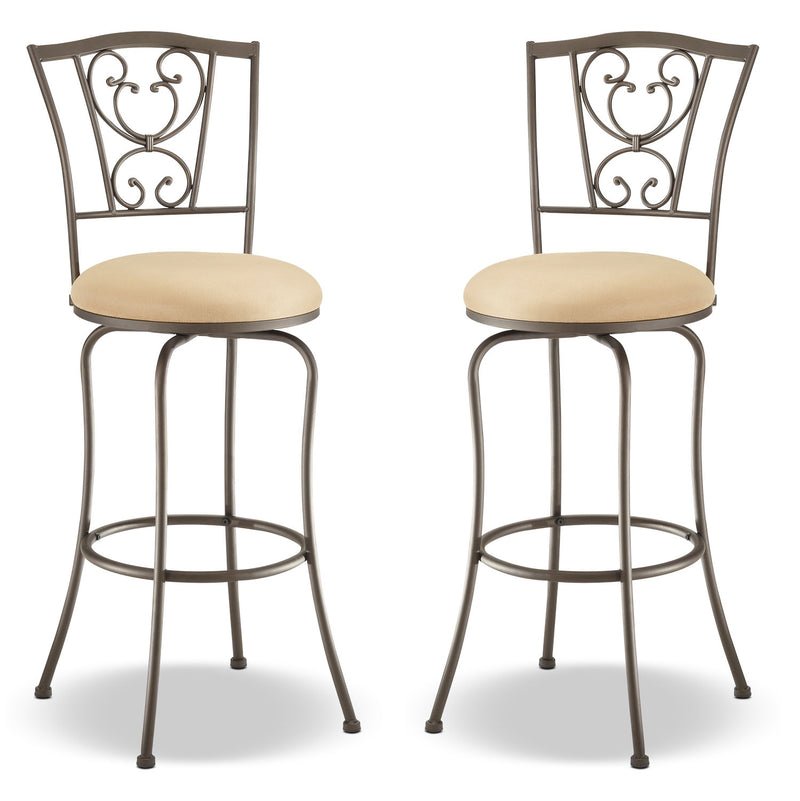 Concord Counter-Height Swivel Stool – Set of 2|Tabouret pivotant Concord de hauteur comptoir - ensemble de 2