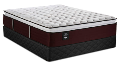 Sealy Posturepedic Crown Jewel Duchess of York Pillowtop Queen Mattress with Sealy 2020 Boxspring|Ensemble matelas à plateau-coussin Duchess of York Crown Jewel pour grand lit et sommier 2020 Sealy|DCHSYRQP