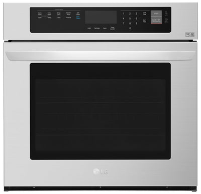LG 4.7 Cu. Ft. Single Wall Oven – LWS3063ST - Electric Wall Oven in Stainless Steel