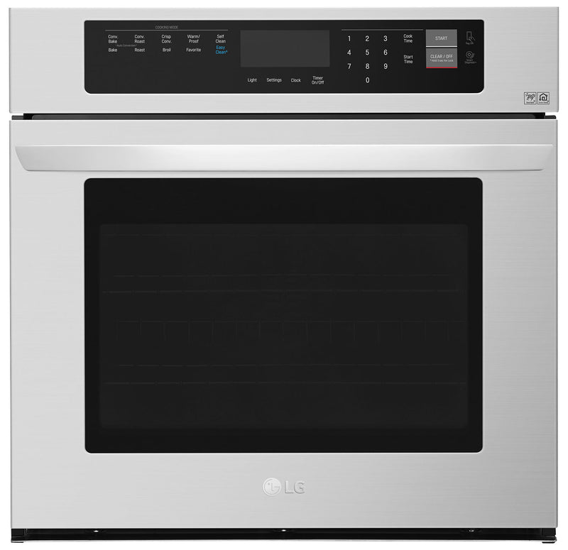 LG 4.7 Cu. Ft. Single Wall Oven – LWS3063ST|Four mural simple LG de 4,7 pi3 – LWS3063ST