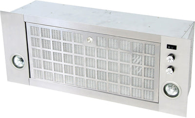 Broan 500 CFM Range Hood Power Pack - Stainless Steel|Module encastrable Broan de 500 pi³/m - acier inoxydable|BC4130SS
