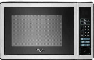 Whirlpool 0.9 Cu. Ft. Countertop Microwave - Stainless Steel - Countertop Microwave in Stainless Steel