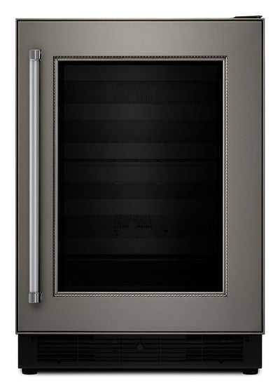 KitchenAid Wine Cellar with Right-Swing Door – Panel Ready KUWR204EPA - Refrigerator in Panel Ready