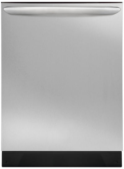 "Frigidaire Gallery 24"" Built-In Dishwasher with DishSense™ – Stainless Steel - Dishwasher with Child Lock in Stainless Steel"