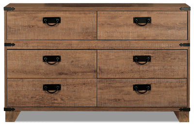 Driftwood 6-Drawer Dresser|Commode Driftwood à 6 tiroirs|DRIFT-DR