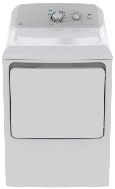 GE 7.2 Cu. Ft. Gas Dryer – GTD40GBMKWW - Dryer in White