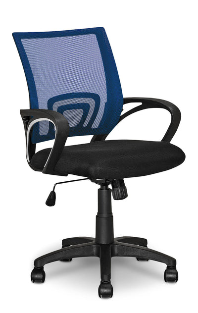 Loft Mesh Office Chair – Dark Blue - Modern style Office Chair in Dark Blue
