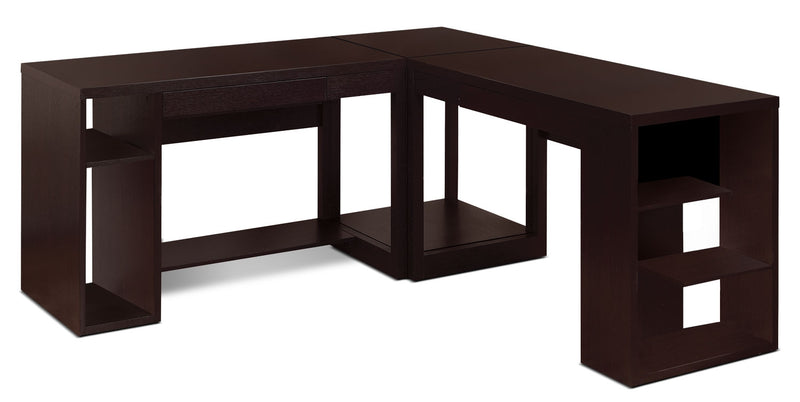 Peyton 3-Piece Desk Package|Ensemble de bureau Peyton 3 pièces