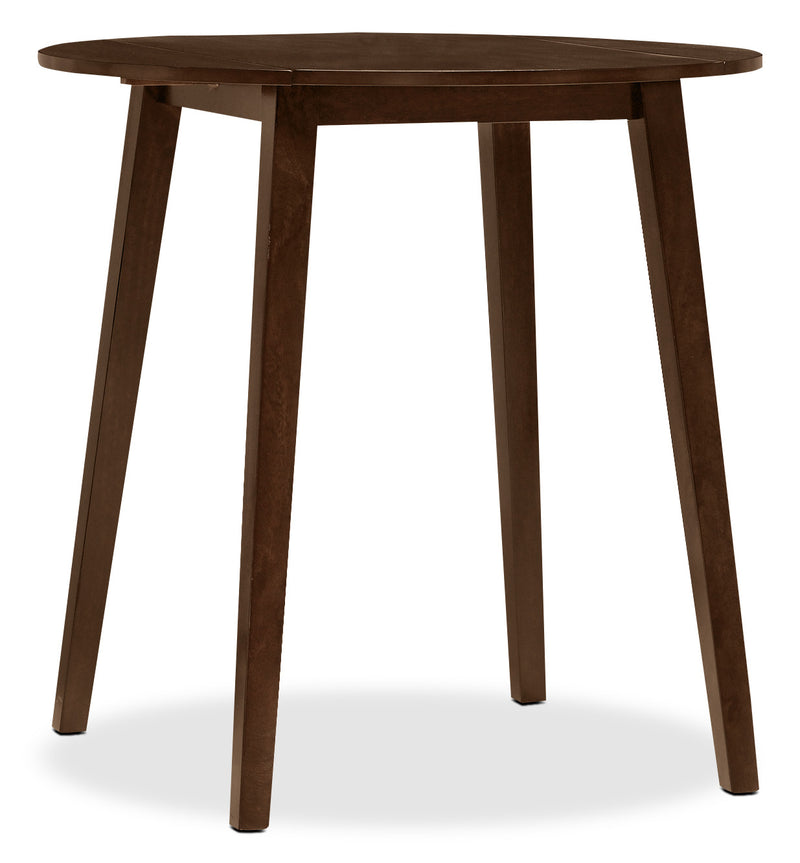 Dakota Counter Height Round Drop Leaf Table|Table ronde de hauteur comptoir Dakota avec rallonge