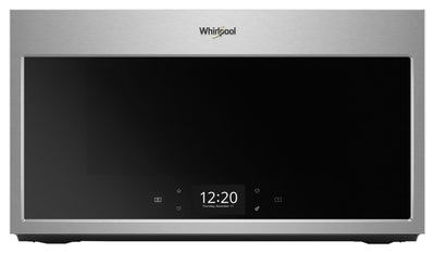 Whirlpool Smart 1.9 Cu. Ft. Over-the-Range Microwave with Scan-to-Cook Technology - YWMHA9019HZ - Over-the-Range Microwave in Stainless Steel