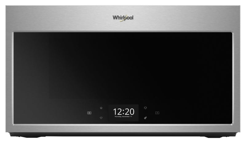 Whirlpool Smart 1.9 Cu. Ft. Over-the-Range Microwave with Scan-to-Cook Technology|Four à micro-ondes à hotte intégrée intelligent Whirlpool®, 1,9 pi3|YWMHA90Z