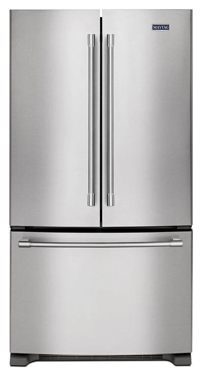 Maytag 25 Cu. Ft. French-Door Refrigerator – MFF2558FEZ - Refrigerator in Stainless Steel