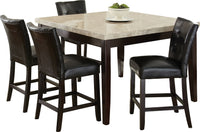 Montibello 5-Piece Counter-Height Dining Package