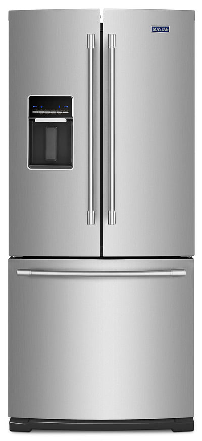 Maytag 20 Cu. Ft. French-Door Refrigerator – MFW2055FRZ - Refrigerator in Stainless Steel