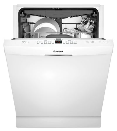 Bosch 300 Series Scoop Handle Built-In Dishwasher – SHSM63W52N - Dishwasher in White
