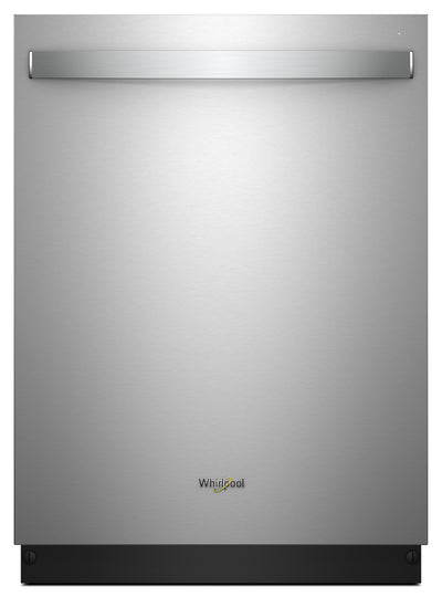 Whirlpool Stainless Steel Tub Dishwasher with TotalCoverage Spray Arm – WDT750SAHZ|Lave-vaisselle Whirlpool à cuve en acier inoxydable avec bras gicleur TotalCoverageMC – WDT750SAHZ|WDT750HZ