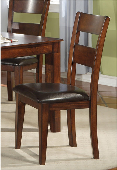 Dakota Light Dining Chair - Contemporary style Dining Chair in Light Cherry