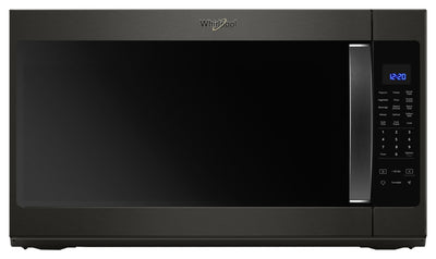 Whirlpool 2.1 cu. ft. Over the Range Microwave with Steam Cooking - YWMH53521HV - Over-the-Range Microwave in Black Stainless Steel