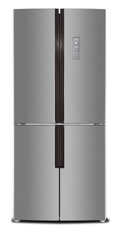 Brada 15 Cu. Ft. 4-Door Refrigerator - MRF-430S - Refrigerator in Stainless Steel Look