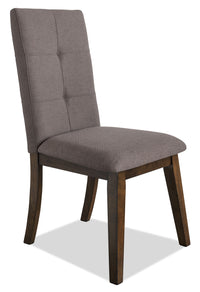 Chelsea Fabric Dining Chair – Brown|Chaise de salle à manger Chelsea en tissu – brune