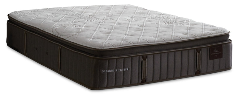 Stearns & Foster Princedale Luxury Firm Pillow-Top King Mattress|Matelas ferme à plateau-coussin de luxe Princedale de Stearns & Foster pour très grand lit