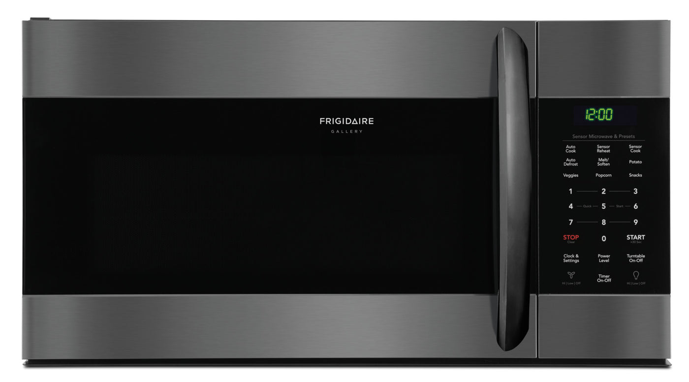 Frigidaire Gallery 1.7 Cu. Ft. Over-The-Range Microwave with Sensor on