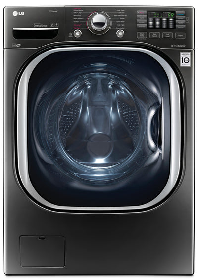 LG 5.2 Cu. Ft. Front-Load Washer with TurboWash® – WM4370HKA|Laveuse LG à chargement frontal de 5,2 pi3 avec technologie TurboWashMC – WM4370HKA|WM4370HK