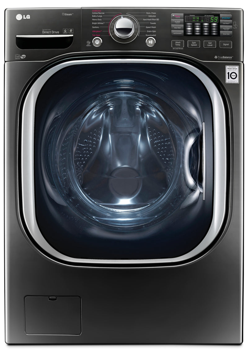 LG 5.2 Cu. Ft. Front-Load Washer with TurboWash® – WM4370HKA|Laveuse LG à chargement frontal de 5,2 pi3 avec technologie TurboWashMC – WM4370HKA