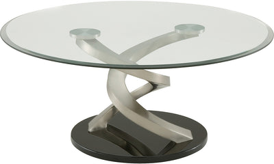 Trenton Coffee Table - Modern style Coffee Table Glass/Metal