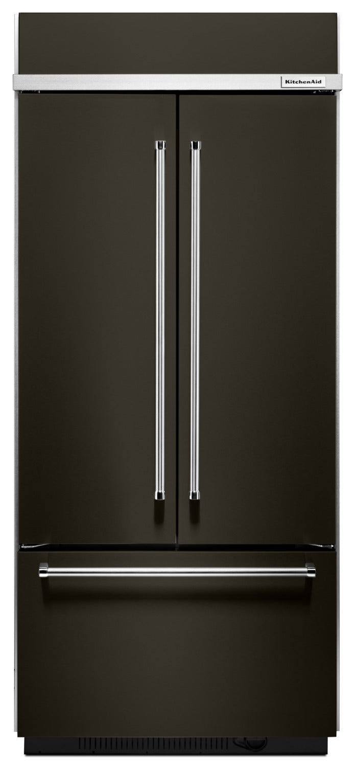 Kitchenaid 208 Cu Ft Built In French Door Refrigerator