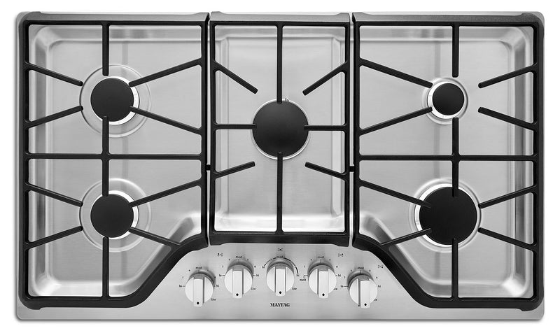 "Maytag 36"" Gas Cooktop – MGC9536DS