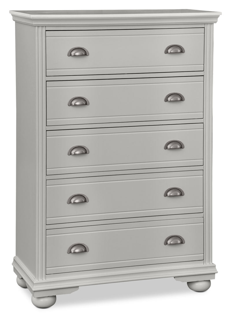 Brooke Chest – Grey|Commode verticale Brooke - grise