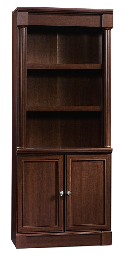 Palladia Library with Doors – Select Cherry - Traditional style Bookcase in Cherry