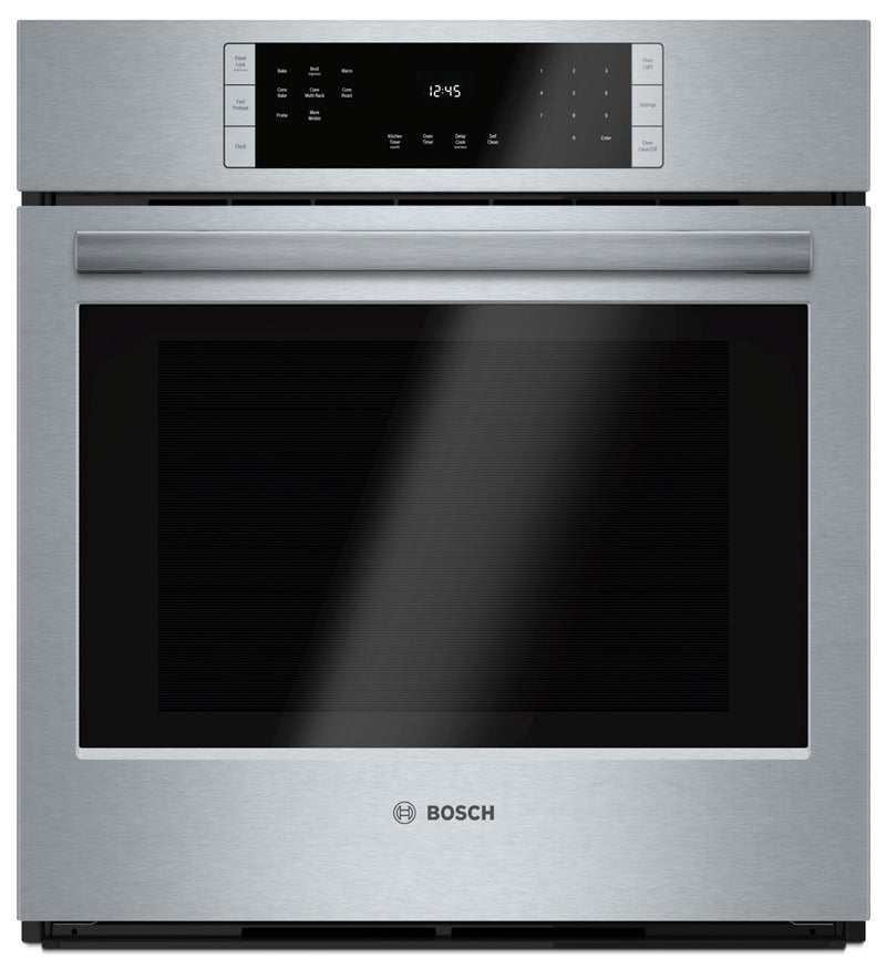 Bosch 800 Series 3.9 Cu. Ft. Single Wall Oven – HBN8451UC - Electric Wall Oven in Stainless Steel