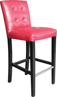 Cosmo Bar Stool – Red|Tabouret bar réglable Cosmo - rouge