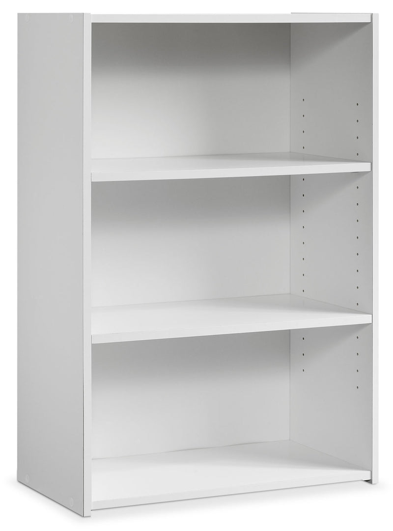 Boston 3-Shelf Bookcase – White|Bibliothèque Beginnings à 2 tablettes - blanche