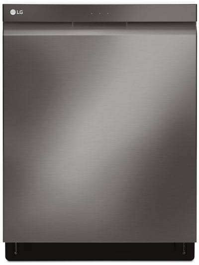 LG Top-Control Built-In Dishwasher with QuadWash™ – LDP6797BD - Dishwasher in Black Stainless Steel