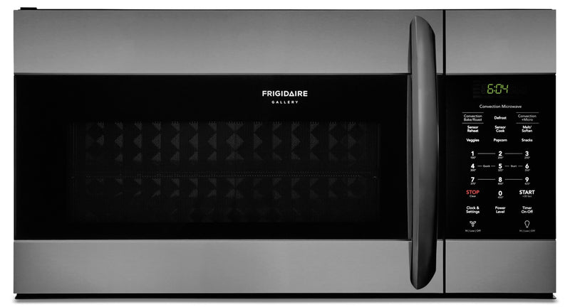 Frigidaire Gallery 1.5 Cu. Ft. Over-the-Range Microwave with Convection – FGMV155CTD|Four à micro-ondes à hotte intégrée Frigidaire Gallery de 1,5 pi³ avec convection - FGMV155CTD|FGMV155D