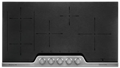 "Frigidaire Professional 36"" Induction Cooktop – FPIC3677RF - Electric Cooktop in Stainless Steel/Black"