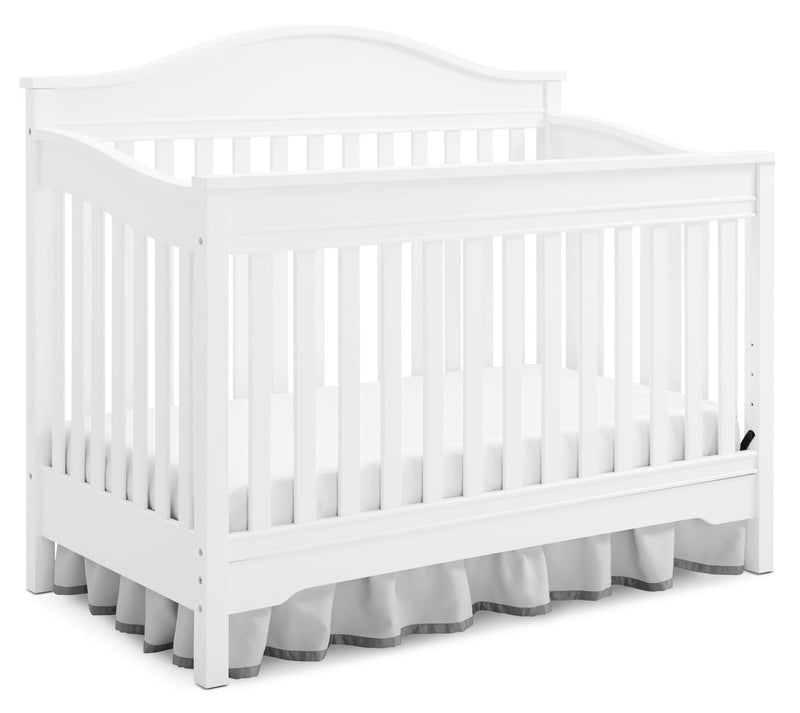 Laney 3-in-1 Convertible Crib – White|Lit de bébé Laney convertible 3 en 1 - blanc