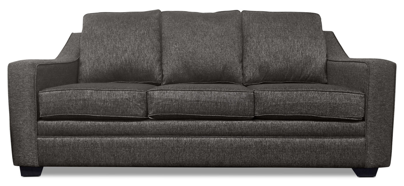 Shay Chenille Sofa Grey The Brick