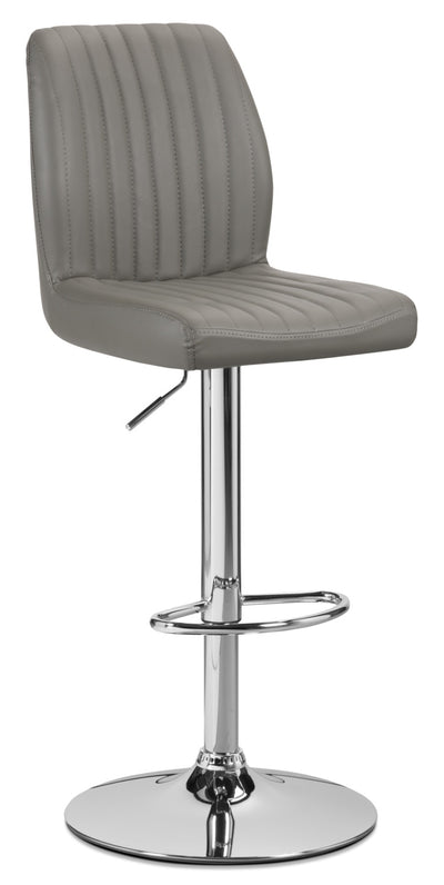 Monarch Adjustable Bar Stool – Grey|Tabouret réglable Monarch - gris|I2372GBS