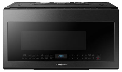 Samsung 2.1 Cu. Ft. Over The Range Microwave – ME21M706BAG/AC - Over-the-Range Microwave in Black Stainless Steel