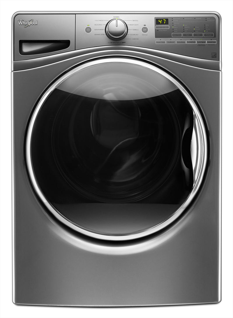 Whirlpool 5.2 Cu. Ft. Front-Load Washer – WFW85HEFC|Laveuse à chargement frontal Whirlpool 5.2 pi3 – WFW85HEFC