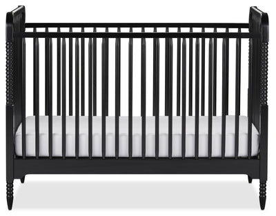 Rowan Valley Crib – Black - Traditional style Crib in Black Wood
