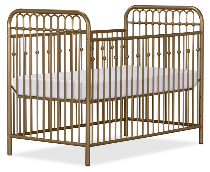 Monarch Hill Metal Crib – Gold|Lit à barreaux en métal Monarch Hill pour bébé - doré